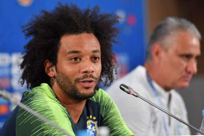Marcelo será o capitão no jogo contra a Suíça