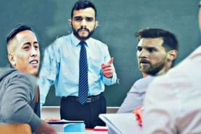 Meme de Dourado 'professor' bombou na Internet
