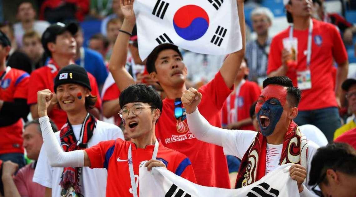 Duelo entre Su�cia e Coreia do Sul, pela primeira rodada do grupo F da Copa do Mundo