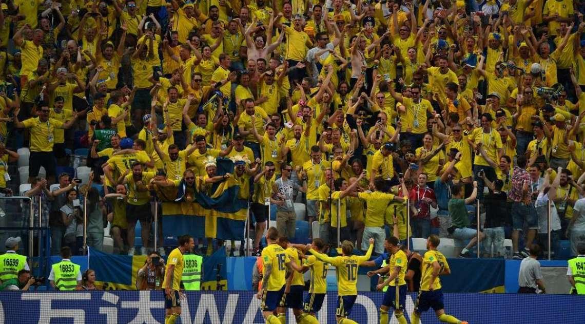 Su�cia vence a Coreia do Sul por 1 a 0
