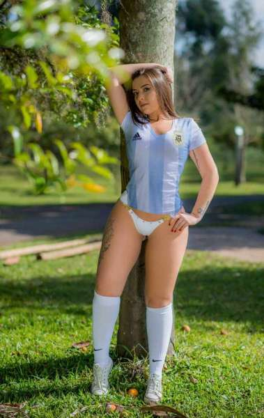 Mariana Selau � a Musa da Argentina