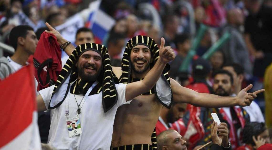 Rússia derrotou o Egito nesta terça-feira