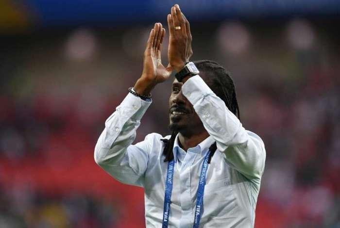 Aliou Cisse é o treinador de Senegal