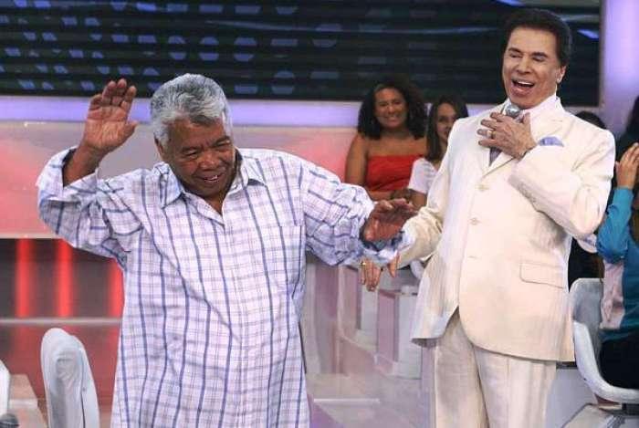 Roque e Silvio Santos