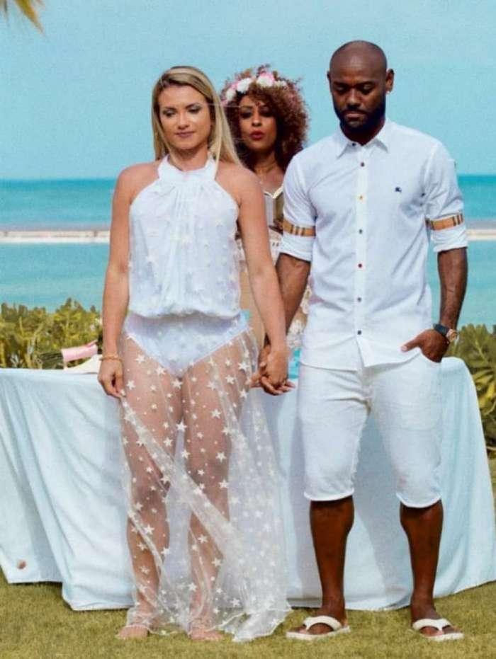 V�nia e Vagner Love em Punta Cana