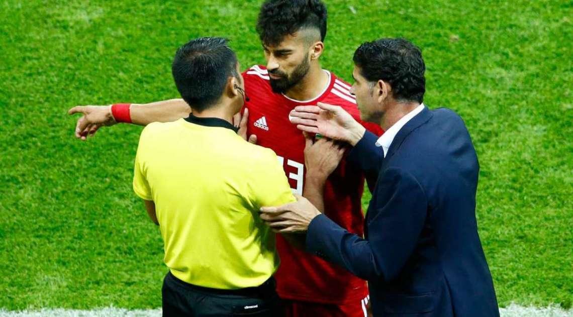 Espanha teve muita dificuldade contra o Irã
