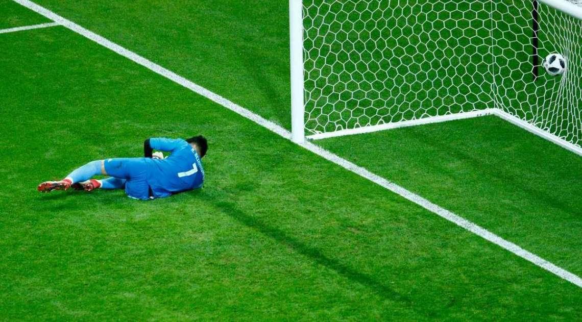 Espanha sofreu muito na partida