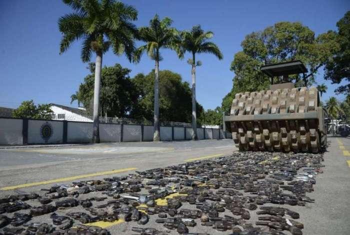 Ação foi conduzida pelo Gabinete de Intervenção Federal, na Vila Militar