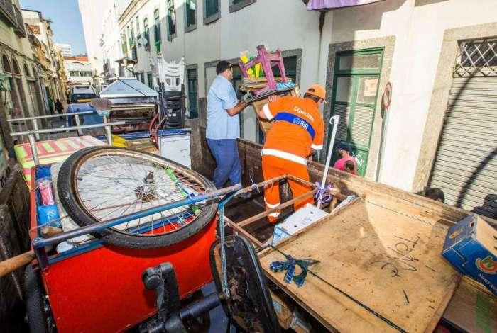 MP e Prefeitura do Rio fazem ação para desocupar depósitos ilegais no Centro