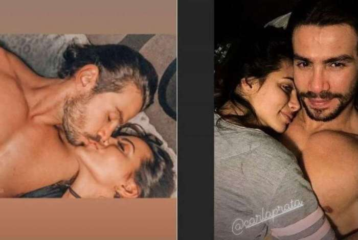 Mariano e Carla Prata postam fotos juntos