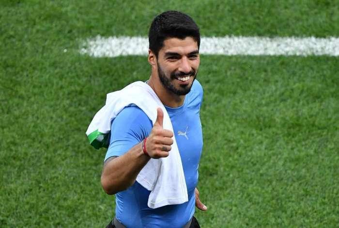 Suárez, do Barcelona, pode fazer a diferença no ataque uruguaio