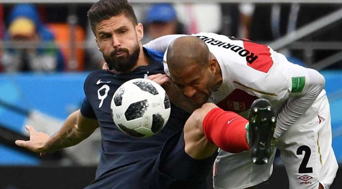 Fran�a e Peru se enfrentam em Ecaterimburgo
