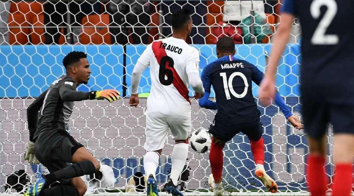 Mbapp� marca para a Fran�a
