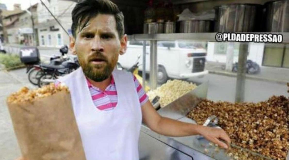 Internautas não perdoam a derrota da Argentina e lotam a Web de memes