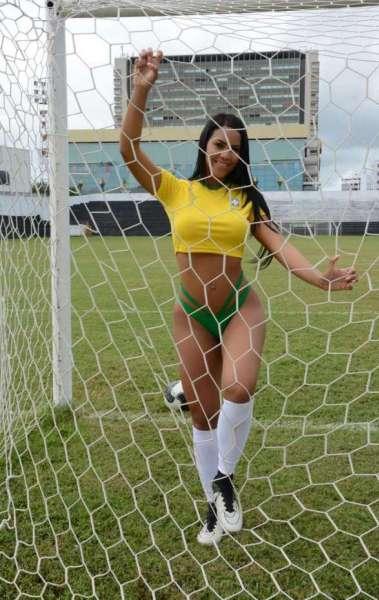 Milla Felix � a Musa do Brasil