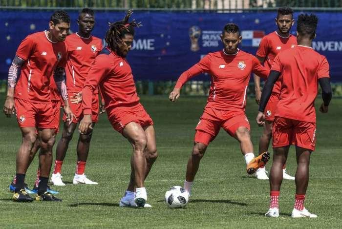 Sele��o panamenha est� confiante para confronto com Inglaterra