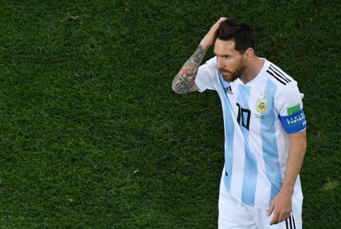 Argentina foi derrotada pela Croácia