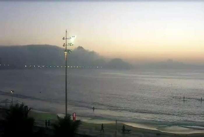 Nevoeiro atingiu v�rios pontos da cidade do Rio nesta quinta-feira