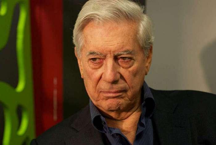 Escritor peruano Mario Vargas Llosa, laureado com o Nobel de Literatura de 2010