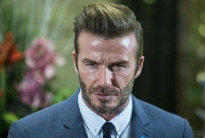 Beckham mostrou confian�a na Inglaterra