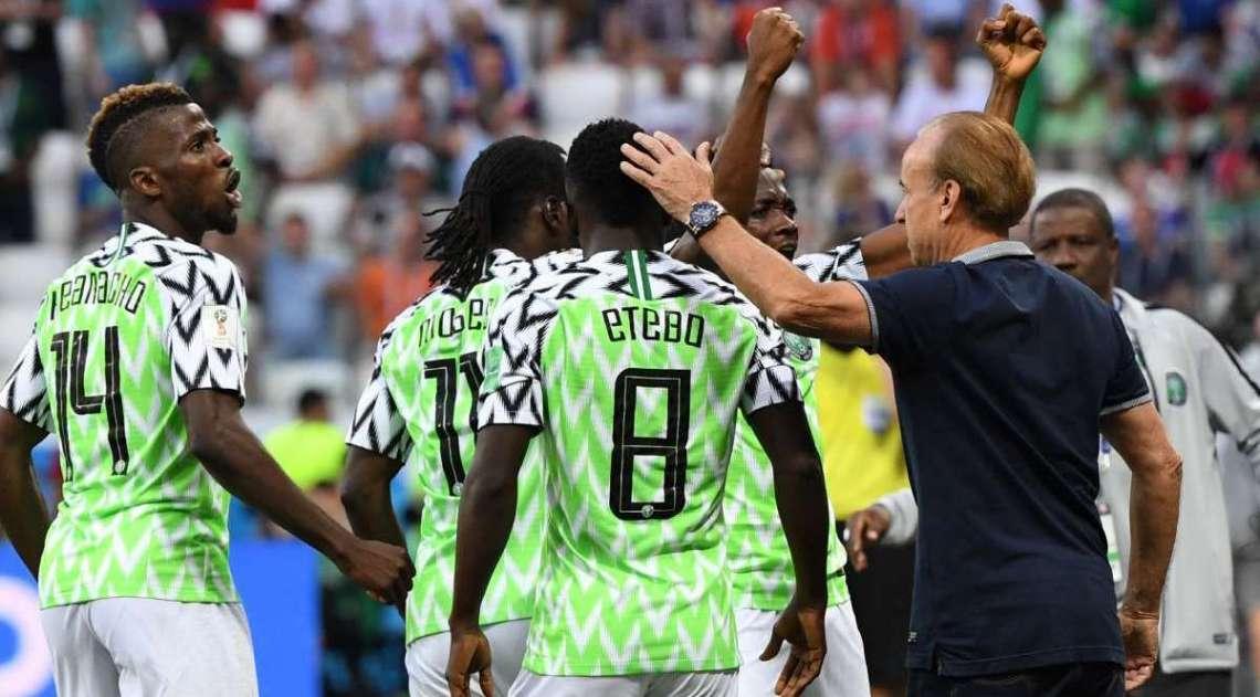 Nig�ria derrotou a Isl�ndia na Copa do Mundo