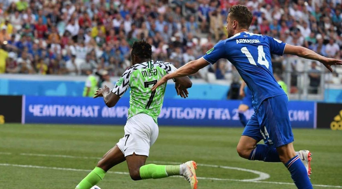 Nigéria derrotou a Islândia na Copa do Mundo