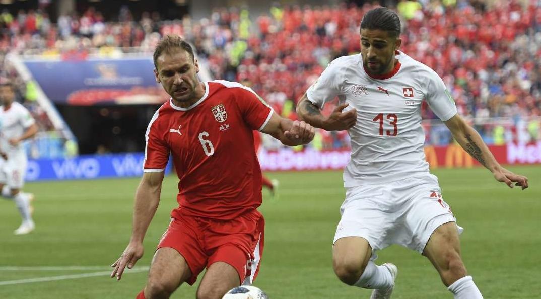Sérvia e Suíça se enfrentaram nesta sexta-feira