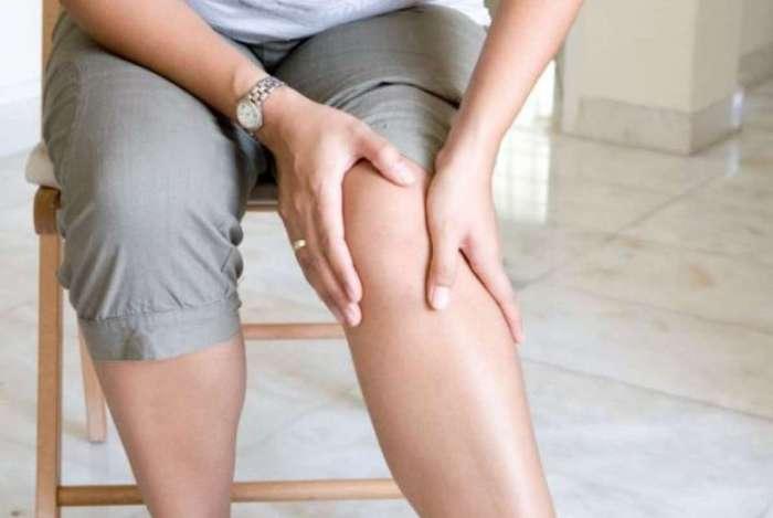 Dores,  c�ibras, paralisias, e sensa��o de apertos podem ser sintomas de arteriosclerose dos membros inferiores.