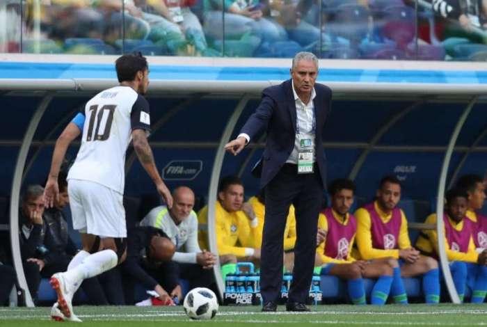 Tite foi elogiado pelo torcedores brasileiros