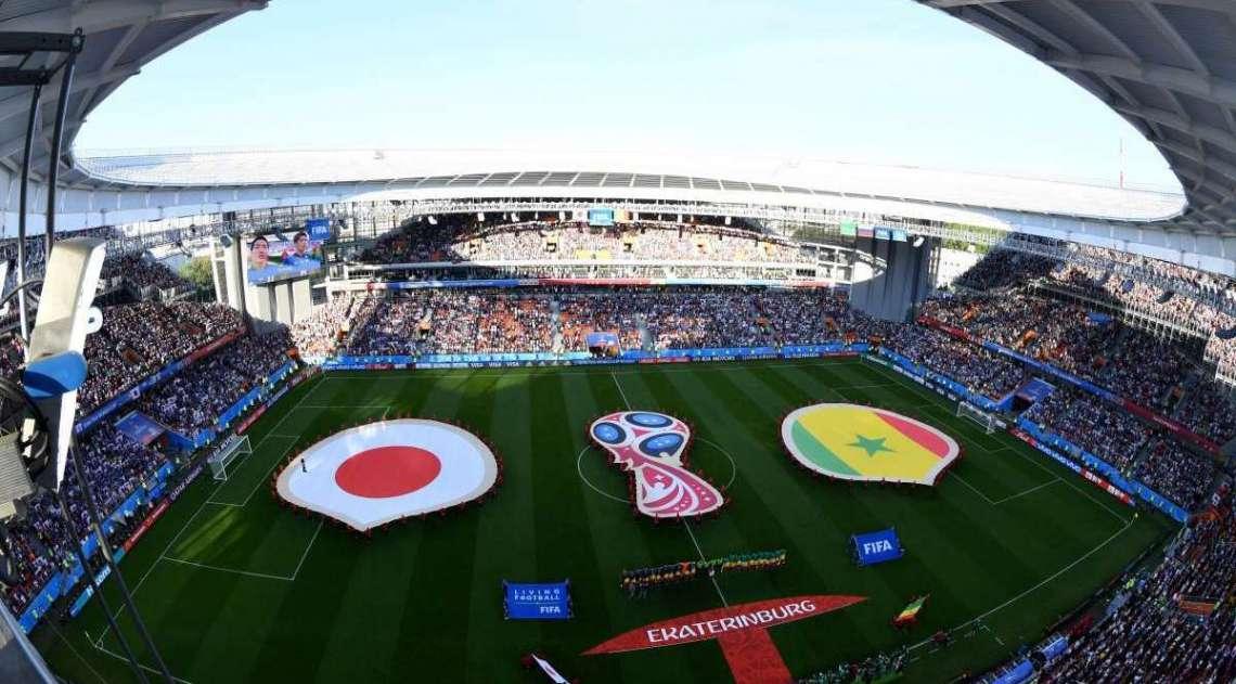 Jap�o e Senegal se enfrentaram em jogo animado