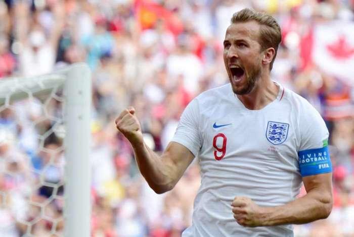 Harry Kane, artilheiro da Inglaterra na Copa do Mundo