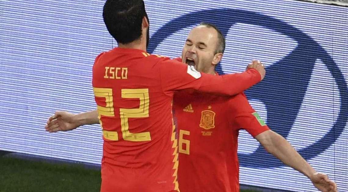 Espanha teve muito trabalho para garantir sua classifica��o