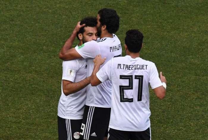 Arábia Saudita e Egito se enfrentaram em Volgogrado