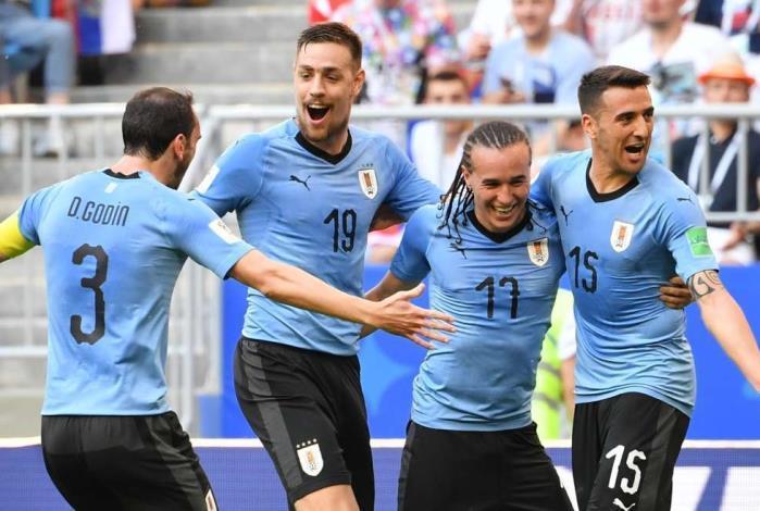 Uruguai passeou contra a Rússia em Samara