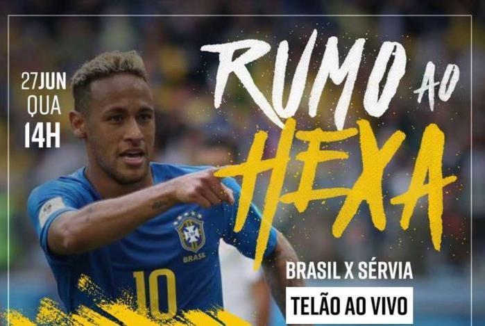 Estabelecimento faz promoção evolvendo Neymar