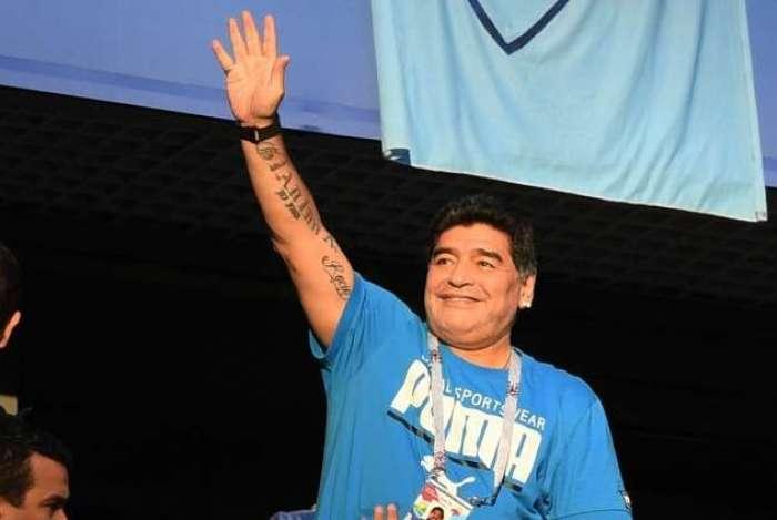 Maradona passou mal após vitória da Argentina