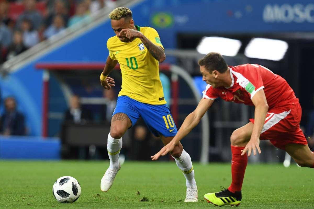 Brasil derrotou a Sérvia e se classificou