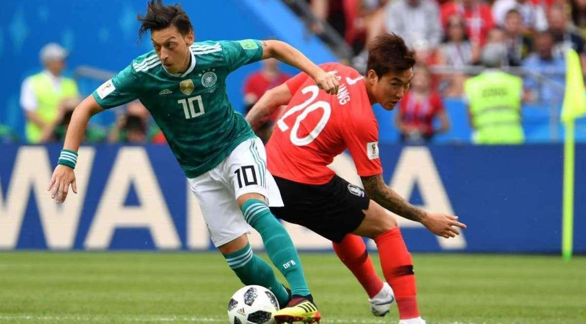 Coreia do Sul e Alemanha se enfrentaram na Arena Kazan, nesta quarta-feira