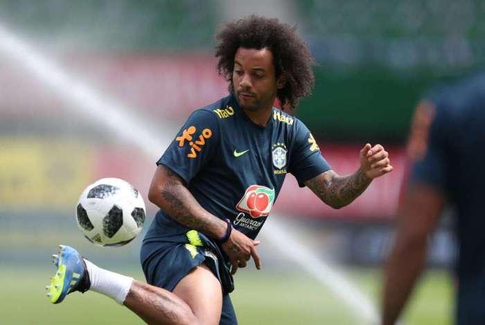 Marcelo está desconvocado de Seleção por conta de lesão na panturrilha direita