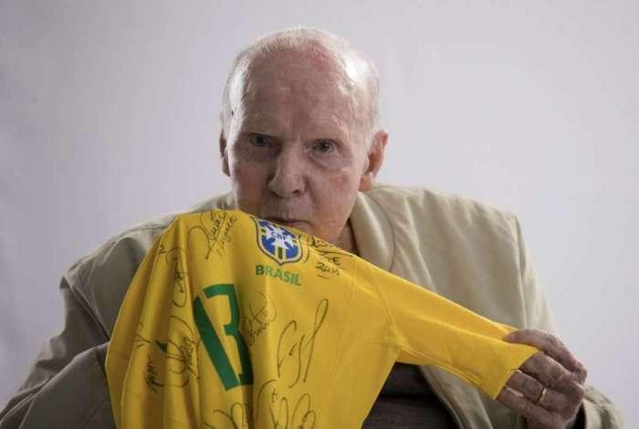 Zagallo: amor à Amarelinha e reconhecimento aos craques que vestiram a camisa da seleção brasileira