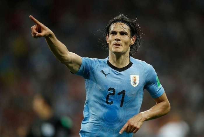 Cavani foi o nome da vitória uruguaia