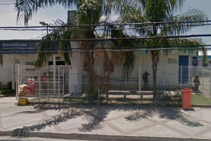 Hospital Lourenço Jorge,na Barra, onde criança deu entrada com sinais de espancamento e traumatismo craniano
