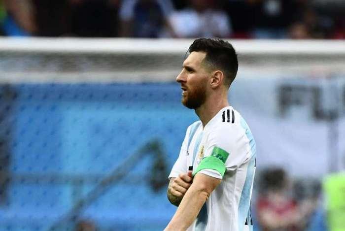 Messi pode não atuar mais pela seleção argentina
