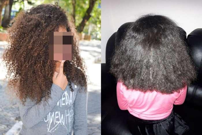 Madrasta alisa cabelo de criança sem permissão da mãe e gera revolta nas redes sociais