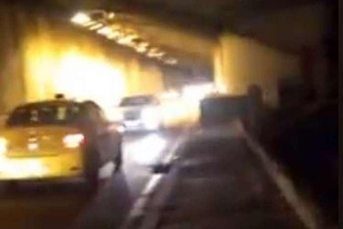 Bandidos agiram no sentido Zona Sul da via