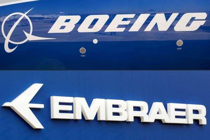 A gigante aeroespacial dos EUA Boeing e a brasileira Embraer assinaram um acordo para formar uma nova empresa