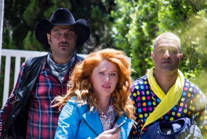 Gabriela Petry nos bastidores do filme 'Texas'
