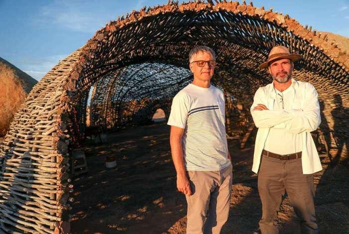 Sérgio Goldenberg e George Moura, autores de 'Onde Nascem os Fortes'
