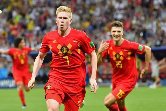 Kevin De Bruyne marcou o segundo gol belga