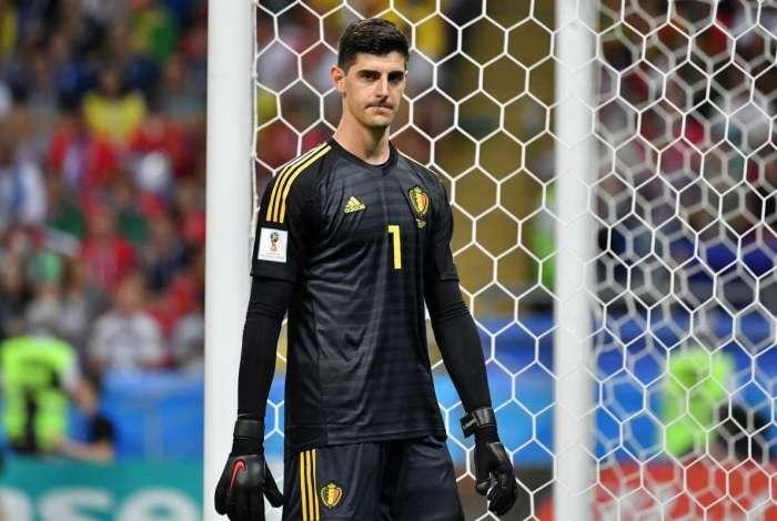 Courtois teve uma grande atuação na vitória da Bélgica